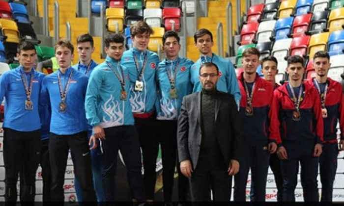 Milliler 21 madalya ile Balkan U20'yi zirvede bitirdi