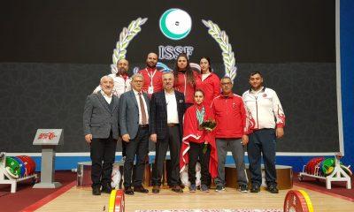 Şaziye Erdoğan Özbekistan'da şampiyon oldu
