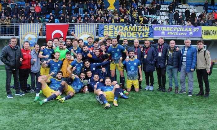 Şampiyon İstanbul Sinopspor…