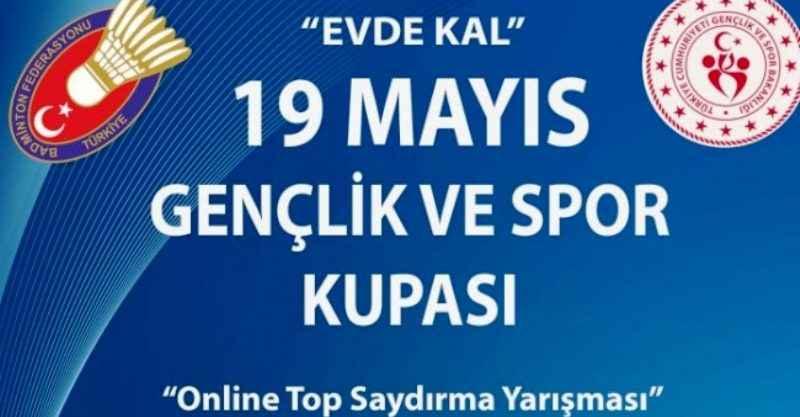 """Türkiye Badminton Federasyonu (TBF), 19 Mayıs Atatürk'ü Anma, Gençlik ve Spor Bayramı'na özel """"top saydırma yarışması"""" düzenleyecek."""