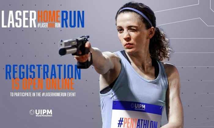 'Evde Laser Run Yarışması' düzenlendi
