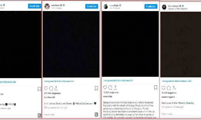 Spor Yıldızlarından Sosyal Medya Karartması