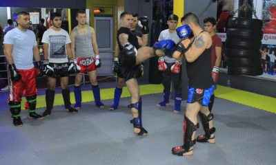 Muaythai ve kick boksta sporcular çalışmalara başladı