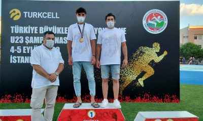 Genç atlet Şalkacı, Türkiye şampiyonu oldu