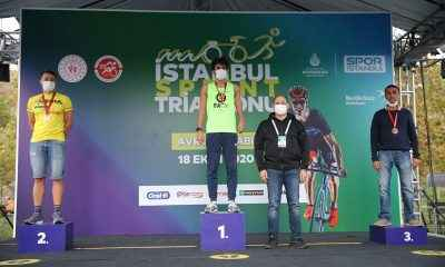 İstanbul Sprint Triatlonu 300 sporcuyu ağırladı…