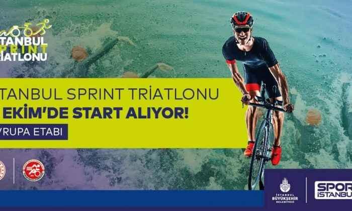 İstanbul Sprint Triatlonu 500 sporcuyu ağırlayacak