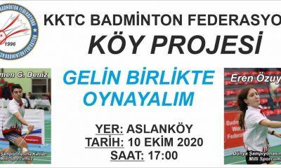 Badminton Federasyonu'ndan KKTC köylerine yardım