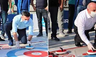 Floor Curling Darıca'da yapıldı