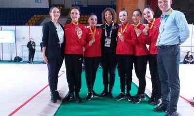 Ritmik Cimnastik Milli Takımımız, Avrupa şampiyonu