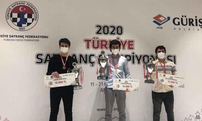 Vahap Şanal Türkiye şampiyonu oldu
