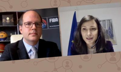 FIBA Genel Sekreteri Zagklis'ten FIFA'ya destek
