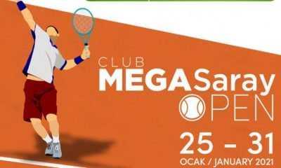 Teniste Club Megasaray Open I, Antalya'da başlıyor