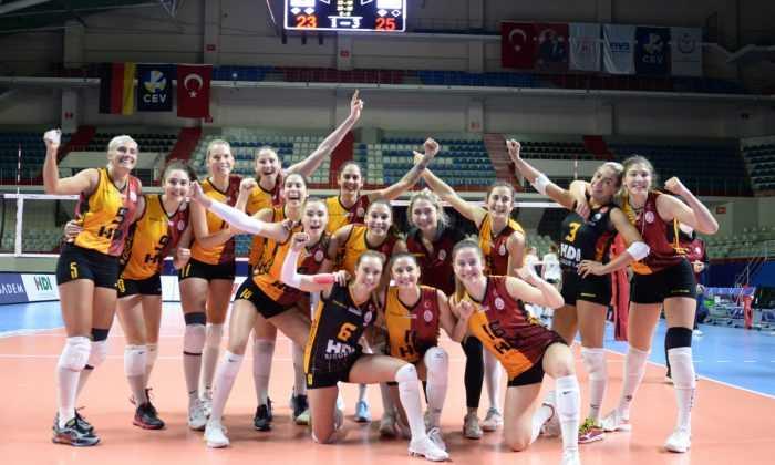 Galatasaray HDI Sigorta CEV Kupası'nda yarı finalde