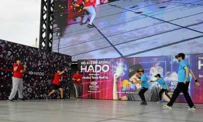 """Geleceğin Sporu """"HADO"""" da işbirliği protokolü imzalandı"""