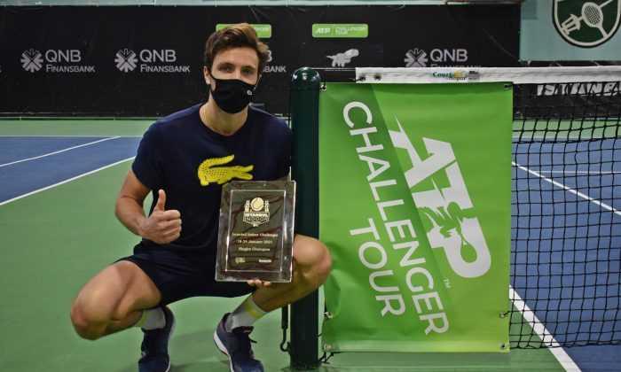 İstanbul Challenger'da Şampiyon Rinderknech