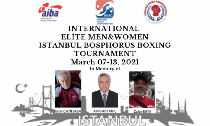 Boks Turnuvası, İstanbul'da yapılacak