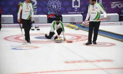Curling 1. Lig müsabakaları bugün sona erdi
