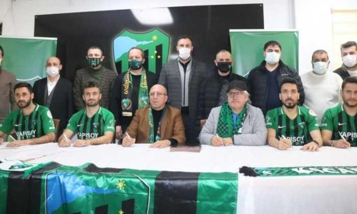 Kocaelispor'da imza şov