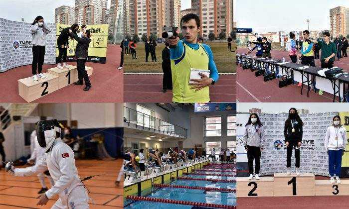 2021'in İlk Pentatlon Türkiye Şampiyonası yapıldı