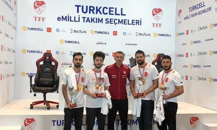 Turkcell eMilli Takım PES21 Seçmeleri'nde kazanan 4 isim