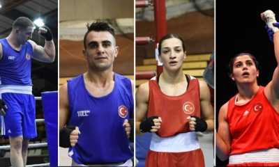 4 milli boksörümüz Macaristan'da yarı finale çıktı