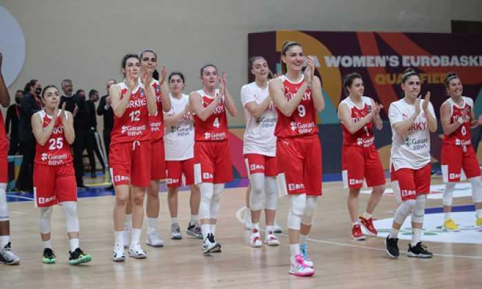 A Kadın Milli Takımımız FIBA 2021 Kadınlar Avrupa Şampiyonası'nda mücadele edecek