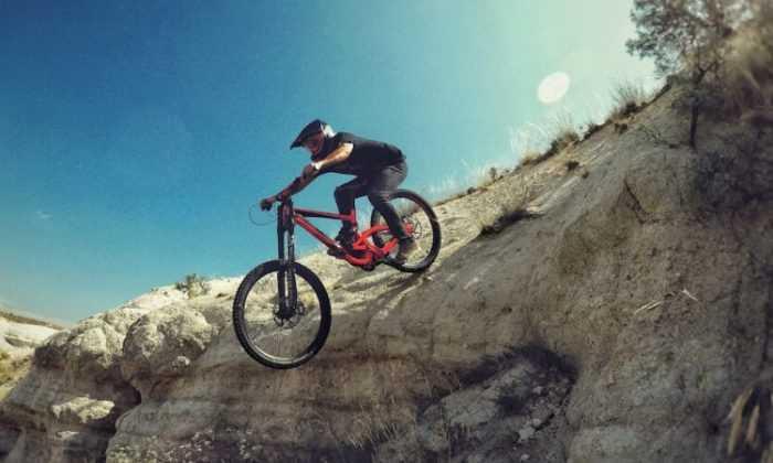 Downhill sporcusu Anadolu'yu dünyaya tanıtacak