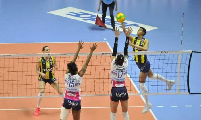 Fenerbahçe Opet Novara'ya 3-1 mağlup oldu
