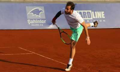 Antalya'da tenis heyecanı devam ediyor