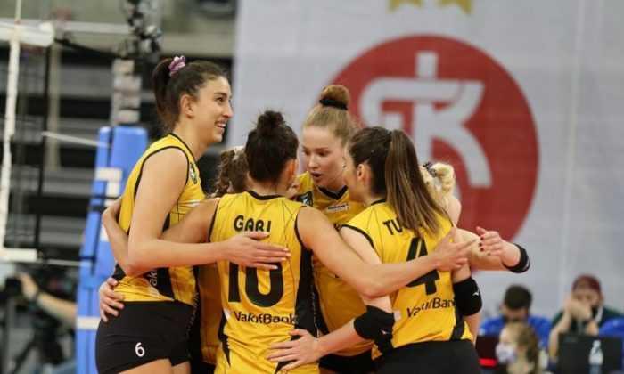 VakıfBank, ASPTT Mulhouse VB'yi 3-0 mağlup etti
