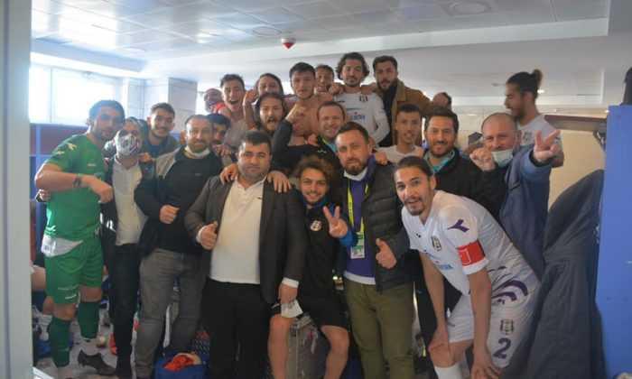 Karadeniz derbisinde kazanan Hopaspor