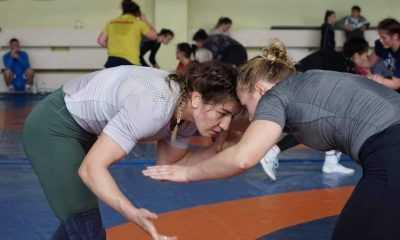 Kadın Güreş Milli Takımı Ukrayna'da kamp yapıyor