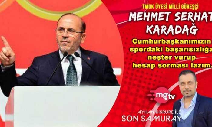 """M.Serhat Karadağ:""""Türk sporu her geçen gün kan kaybediyor"""""""