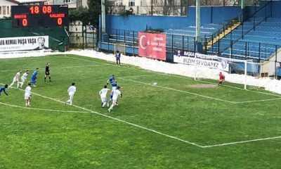 Sarıyer, 2-0 öne geçtiği maçı 3-2 kaybetti