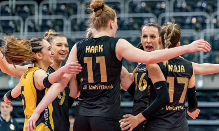 VakıfBank, namağlup çeyrek finalde