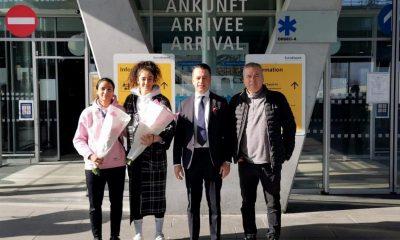 Badmintoncular puan için İsviçre yolcusu