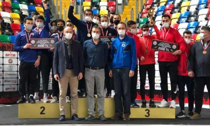 Salon Atletim Yarışmaları'nda şampiyon Fenerbahçe