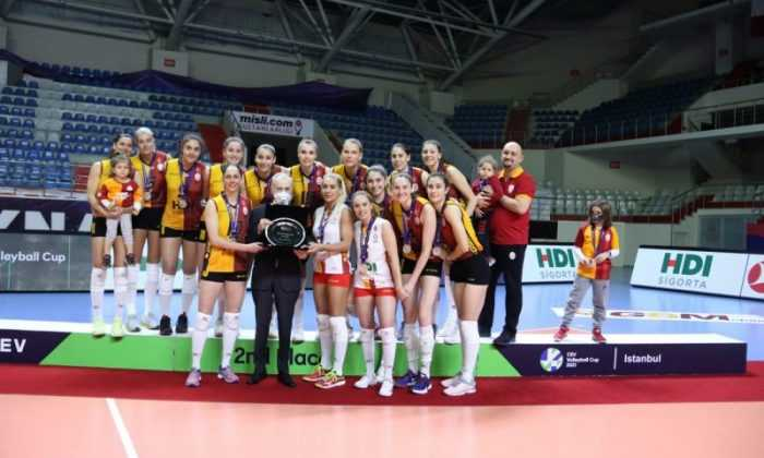 Galatasaray HDI Sigorta, CEV Kupası ikincisi