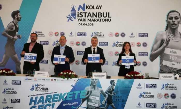 İstanbul Yarı Maratonu'nun basın toplantısı yapıldı