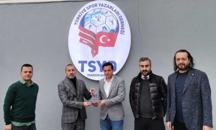 Hacıkerimoğlu TSYD Trabzon Şubesi'ni ziyaret etti