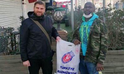 Türkiye Badminton Federasyon'undan Uganda Badminton Federasyonuna Malzeme Yardımı