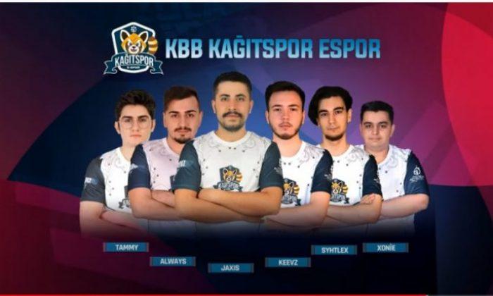 Kağıtspor E-Spor, Süper Ligde mücadele etmeye başladı