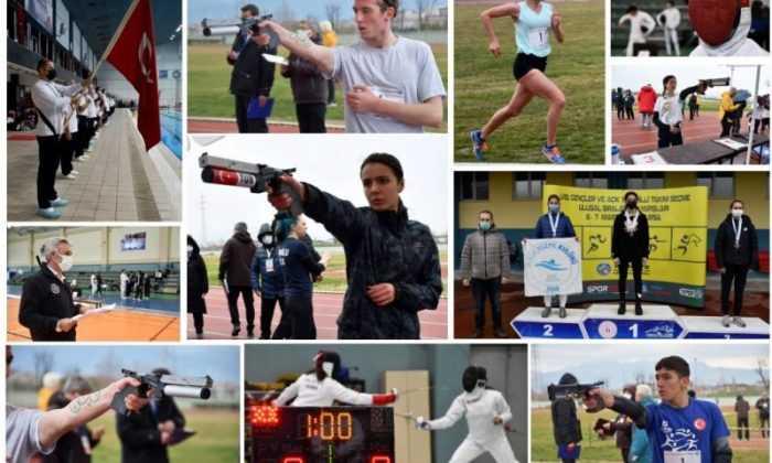Pentatletlerin ulusal sıralama yarışı  Bursa'da yapıldı