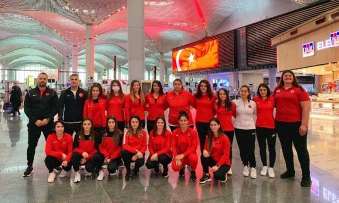 Olimpik Kadın Milliler Arnavutluk'a gitti