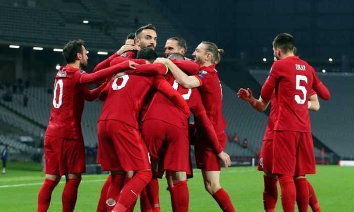 Türkiye 6 gollü maçta Letonya ile yenişemedi