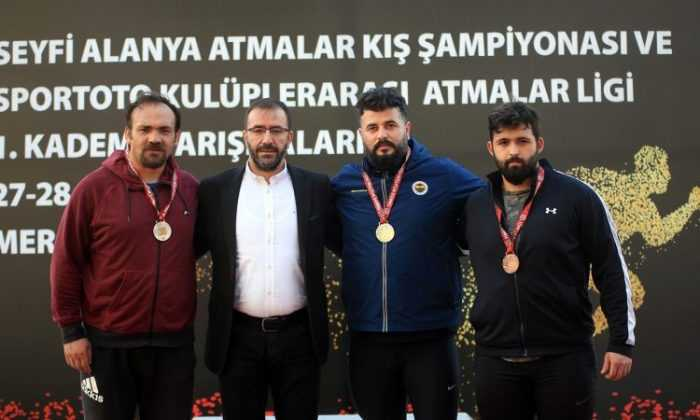 Seyfi Alanya Atmalar Kupası sona erdi