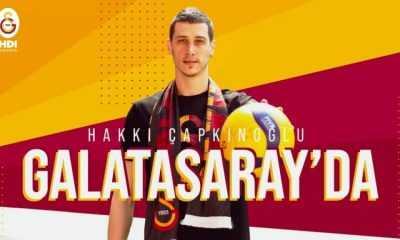Hopa'lı Hakkı Çapkınoğlu Galatasaray'da