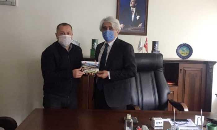 Başkan Yılmaz'dan İl Özel İdaresi Genel Sekreteri Abdurrahman Anlaş'a Ziyaret