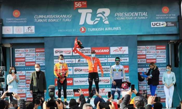 56. Cumhurbaşkanlığı Türkiye Bisiklet Turu Açılış Etabındaki Sürpriz Birinci