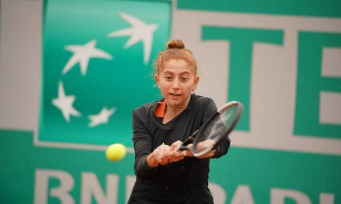 TEB BNP Paribas Tennis Championship Istanbul'da Elemelerin İlk Günü Sona Erdi